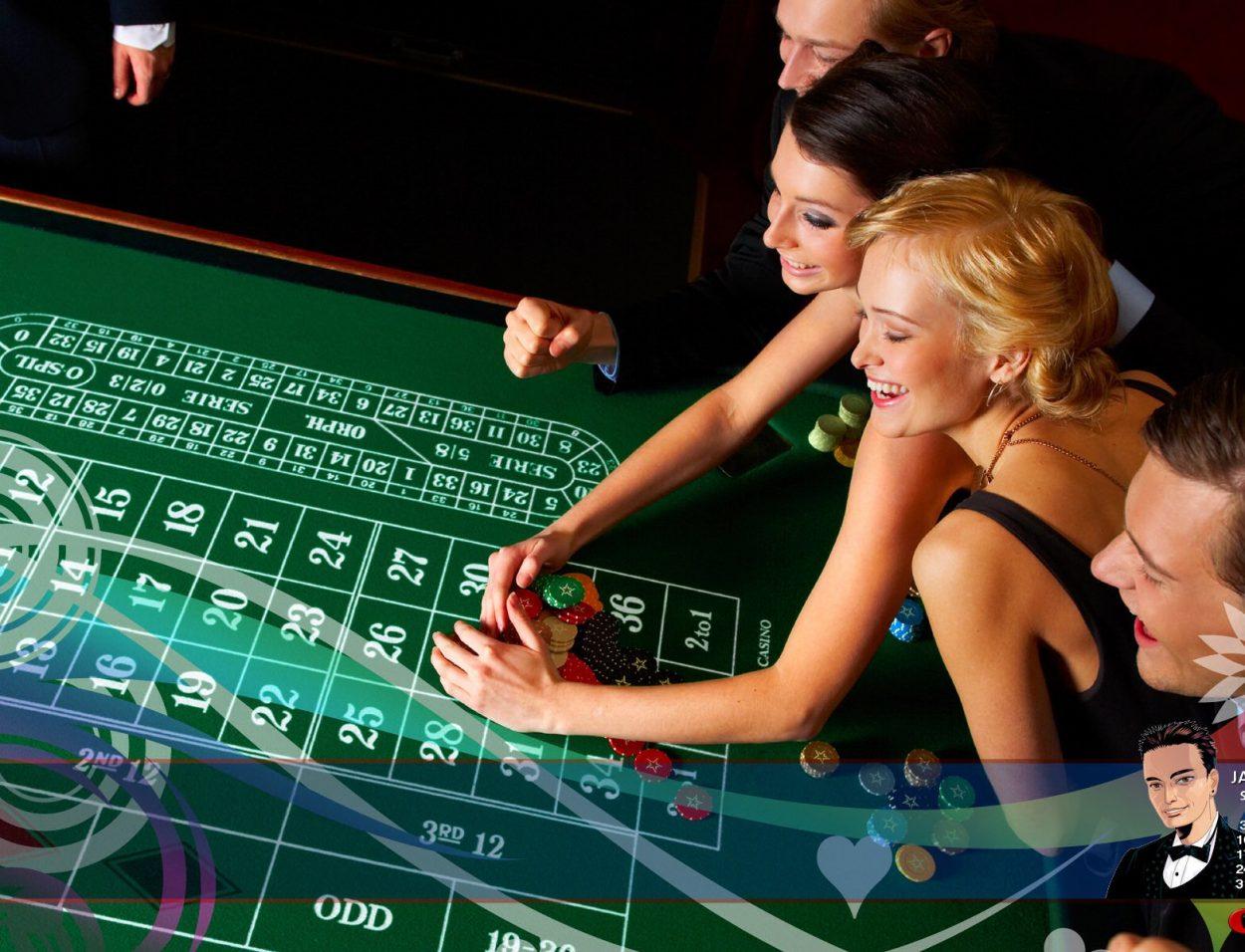 женщины в казино